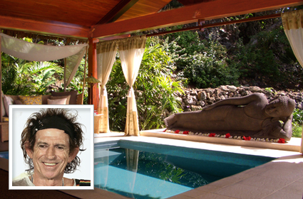 Kieth Richards - Wakaya Luxury Resort