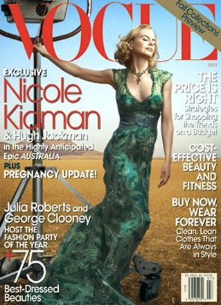 Nicole Kidman - Vogue July 2008